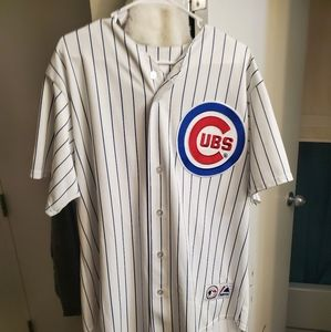 Large Majestic Cubs Jersey